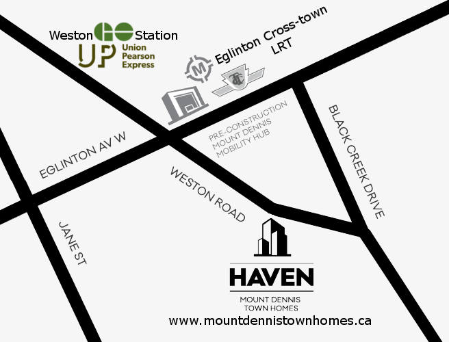 Mount Dennis Town Homes