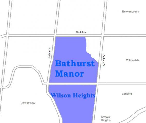 bathurst manor and wilson heights
