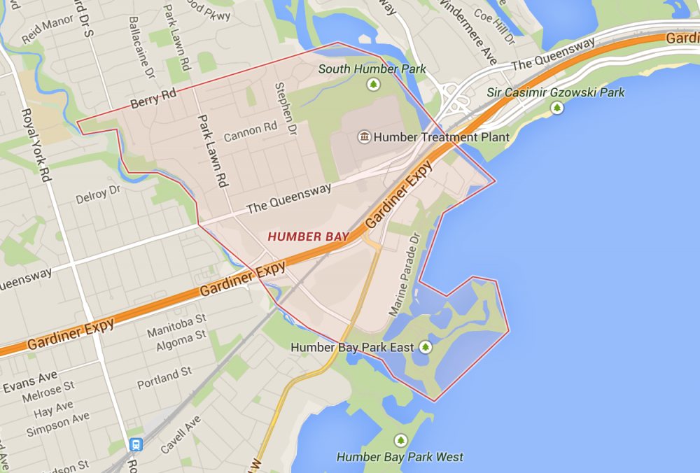 Humber Bay & Humber Bay Shores map Robert Nardi